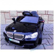 Электромобиль Cabrio B4 чорний + EVA колеса