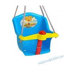 Дитячі гойдалки пластикові Сонечко-2 з бар'єром