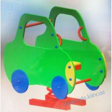 """Пружинка качели """"Машинка зелёная"""""""
