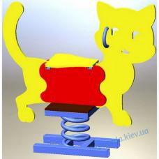 "Дитячі гойдалки-качалка на пружині ""Котик"""
