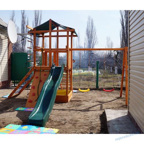 "Детская площадка""Три элемента"" на дачу"