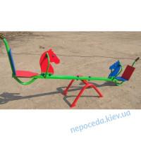 Детские качели-балансир «Лошадка»