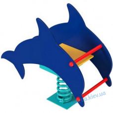 Качалка на пружине Дельфин