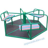 Карусели детские для улицы «Волошка»