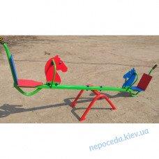 Дитячі гойдалки-балансир «Конячка»