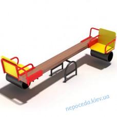 Дитячі гойдалки балансир для дітей з ОФМ на дитячий майданчик