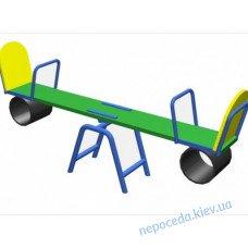 Детские качели-балансир (211см) уличные устойчивые
