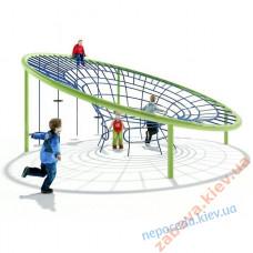 Детский игровой комплекс современный из канатов