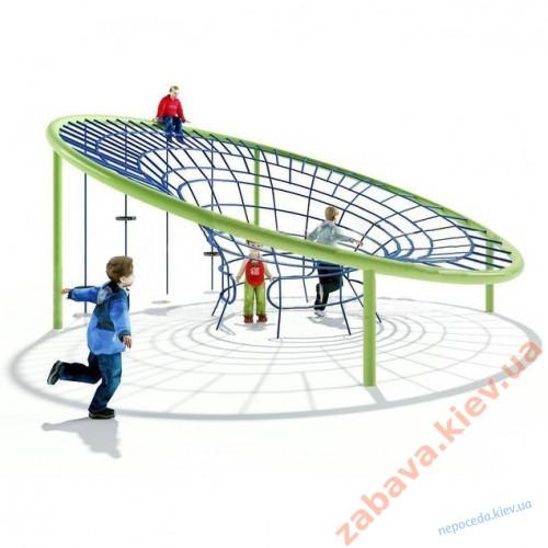 Детский игровой комплекс из канатов
