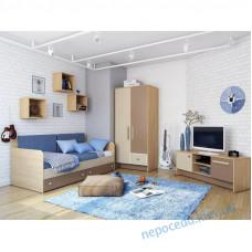 Детская комната для мальчика Акварели коричневые