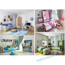 Детская комната Pink мебель для девочки