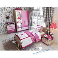 Детская комната Акварели розовая для девочки