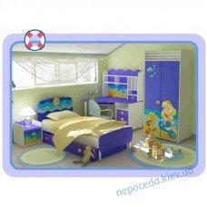 Детская комната Ocean в голубых тонах