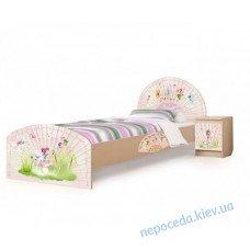 """Односпальная кровать для детей """"Веер-Непоседа"""" 140-170см"""