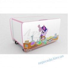 """Ящик для игрушек """"Little Pony"""". Детская мебель"""