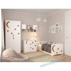 Детская комната FLY Звезды с шкафом кроватью комодом