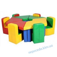 """Дитячий ігровий набір """"Круглий стіл"""""""