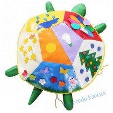 Дидактический пуф Черепаха с набором чехлов