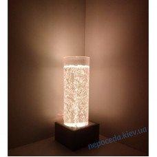 Пузырьковая колона светящаяся