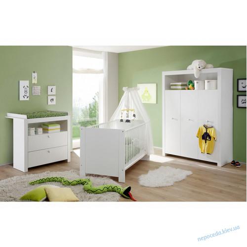 Комод пеленальный белый детский