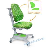 Детское кресло Mealux Onyx зеленое в пикселях