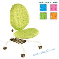 Детское кресло Эрго Ноты белый+зелёный