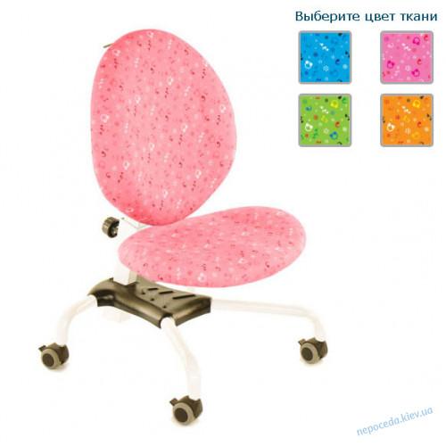 Детское кресло Эрго Ноты белый