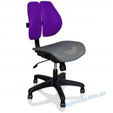 Кресло компьютерное Mealux Ergonomic Duo фиолетовое