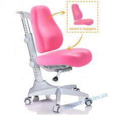 Кресло детское Mealux Match gray base розовое
