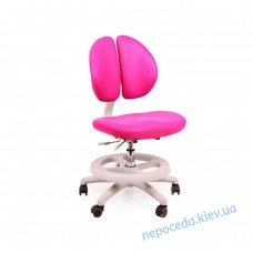 Детское кресло Mealux Duo Kid KP обивка розовая однотонная