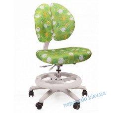 Детское кресло Mealux Duo Kid Z (зелёное в кружочки)