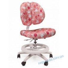 Детское кресло Mealux Duo Kid P (розовое с кружочками)