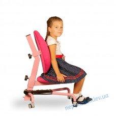 Кресло детское регулируемое Pondi (розовое)