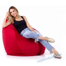 Кресло мешок Груша красное