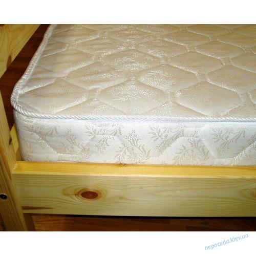 Двухъярусная кровать из ясеня с ящиками 190см.