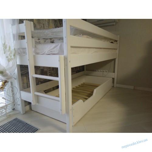 Кровать чердак для подростков белая