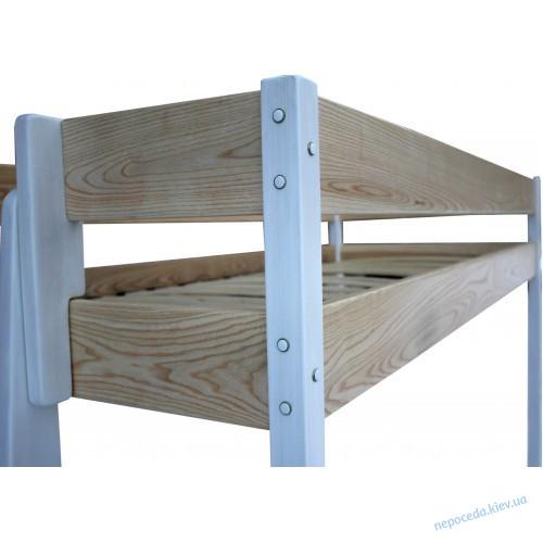Кровать-чердак ДРИМ из ясеня