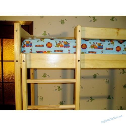 Двухъярусная кровать из сосны для детей