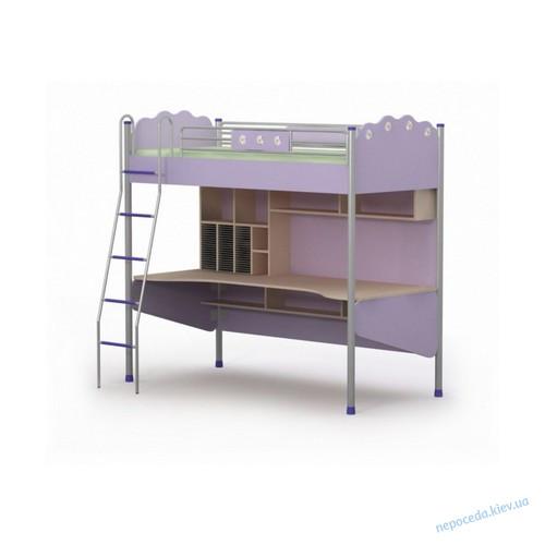Кровать-чердак + стол Silvia Si-16-1