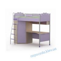 Кровать-чердак + стол Silvia Si-16-2