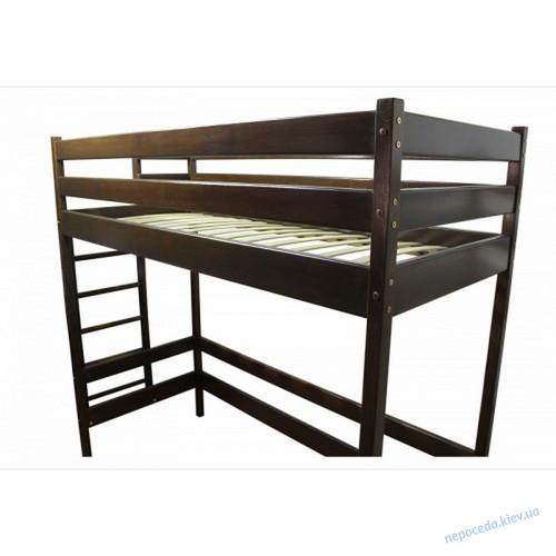 Кровать-чердак Альпы Тон коричневый