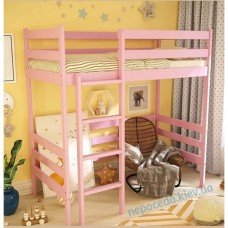 """Кровать чердак для девочки """"Фруктовый зефир"""""""