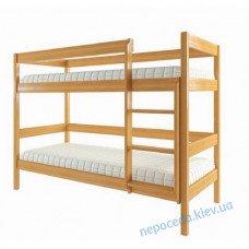 Дитяче двухьярусне ліжко Екo-1 з вільхи