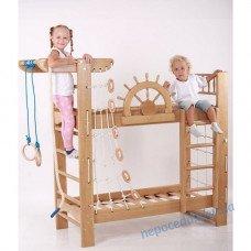 Дитяче ліжко зі спортивним куточком