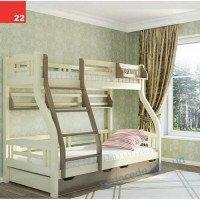 Детская двухьярусная кровать Светлана (3 Спальных места)