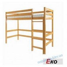 Дитяче ліжко-горище Екo з вільхи