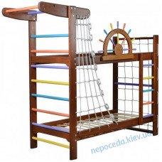 Детская Кровать и шведская стенка Забавный Пират - 2