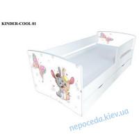 Дитяче ліжко Kinder-Cool Зайчика без ящика  - 174 см