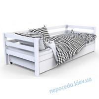 """Кровать детская """"Валенсия"""" белая (дерево) 199см"""