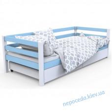 """Дитяче ліжко """"Валенсія"""" блакитна (дерево)"""